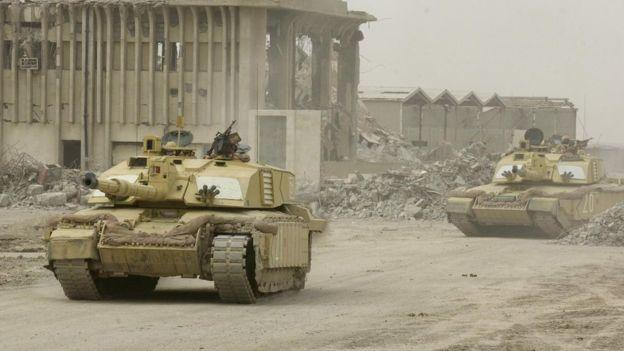 Reino Unido participó con EE.UU. y otros países en la invasión a Irak de 2003, luego de que ambas naciones dijeron que el país tenía armas de destrucción masiva.