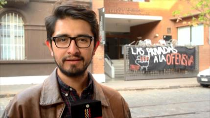 """Periodista detenido por carabineros: """"Esta es una afectación a la libertad de prensa"""""""