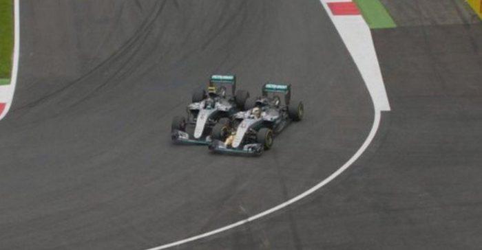 F1: Hamilton gana con un adelantamiento épico a Rosberg en la última vuelta
