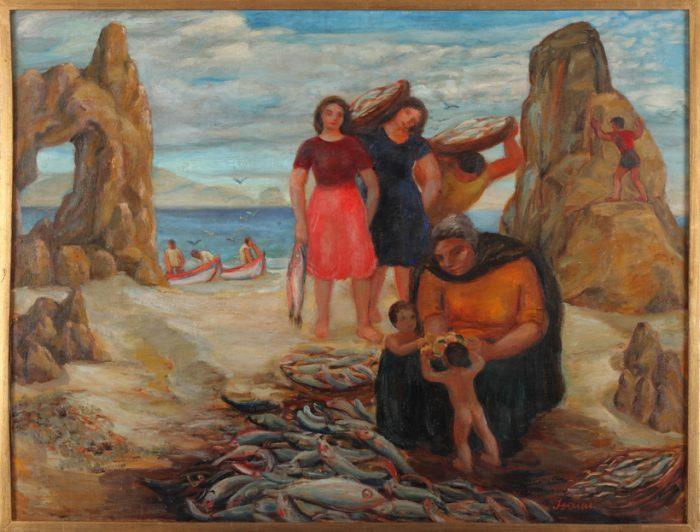 """Isaías Cabezón """"Mujeres de pescadopres"""""""