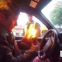 [VIDEO] Cuando eres mago y Carabineros te detiene para un control de tránsito