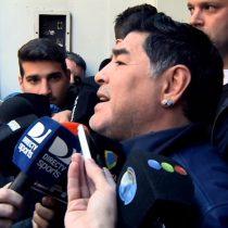 """[VIDEO] Maradona dispara contra la AFA: """"Primero me la dejan limpia y después hablamos de cualquier otra cosa"""