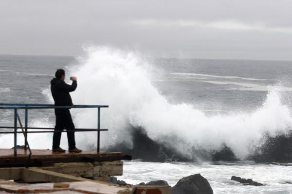 Armada advierte fuertes marejadas en las costas del país