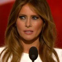 [VIDEO] ¿Plagió Melania Trump a Michelle Obama?