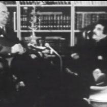 [VIDEO] El día que Gabriel García Márquez entrevistó a Pablo Neruda dos días después de haber ganado el Nobel de Literatura
