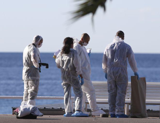 Testigos del ataque en Niza:
