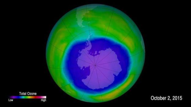 Cuáles son las razones por las que la capa de ozono se está
