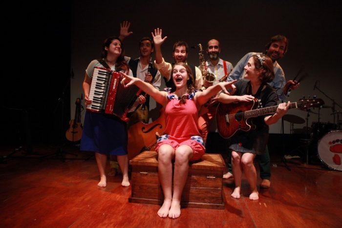 """Concierto teatral infantil """"Isabel Patapelá"""" en el Centro de Extensión UC todos los fines de semana de julio"""