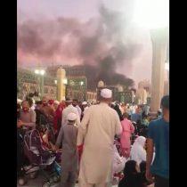 [VIDEO] Primeras imágenes de los atentados contra dos mezquitas en Arabia Saudita