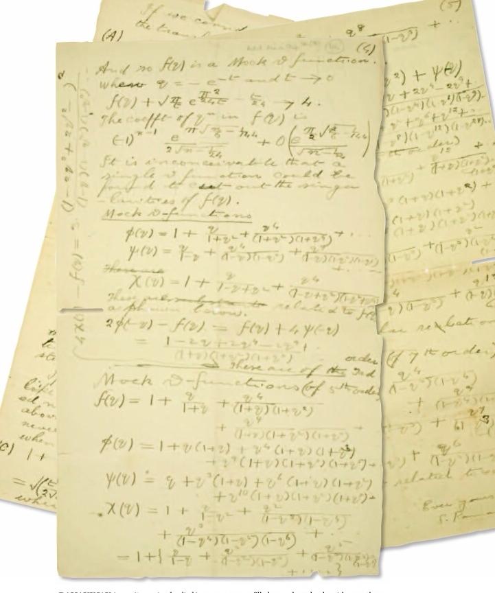 Notas de Ramanujan.
