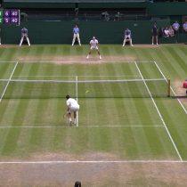 [VIDEO] El punto que le dio el pase a la final a Raonic sobre un debilitado Federer en Wimbledon