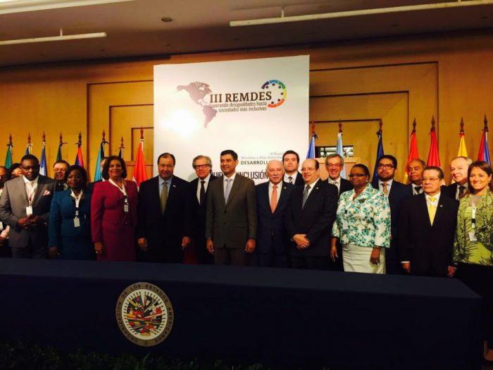 Subsecretario de Servicios Sociales participaen la III Reunión de Ministros y Altas Autoridades de Desarrollo Social