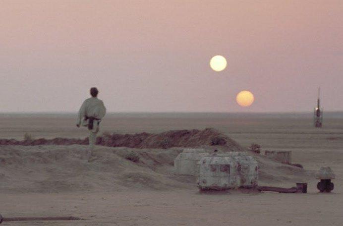 Descubren un sorprendente planeta con tres soles