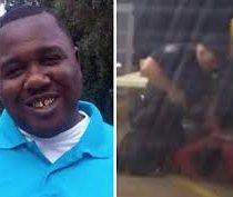 [VIDEO] Brutal asesinato de un hombre afroamericano por un policía en Estados Unidos