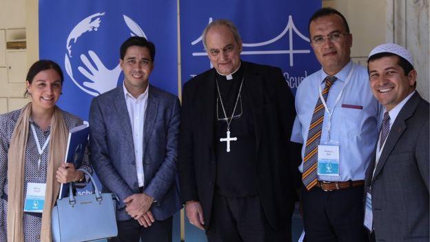 Nancy Falcón es la directora del Centro de Diálogo Intercultural Alba de Argentina, que trabaja temas de diálogo interreligioso.
