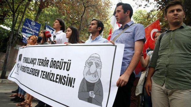 El año pasado el gobierno turco incluyó al Movimiento Gülen en su lista de organizaciones terroristas.
