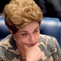 Rousseff concluye su intervención y el Senado hará hoy el debate final