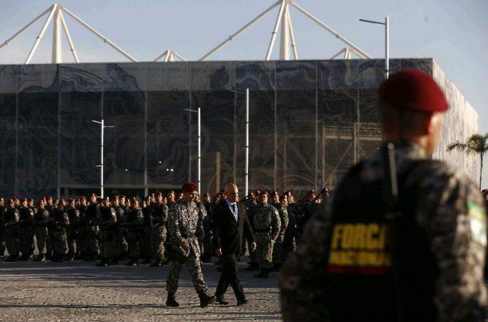 Maracaná se blinda antes de la ceremonia de apertura de los Juegos