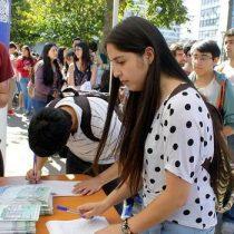 Según estudio del INJUV el 50% de los jóvenes votará en las elecciones municipales