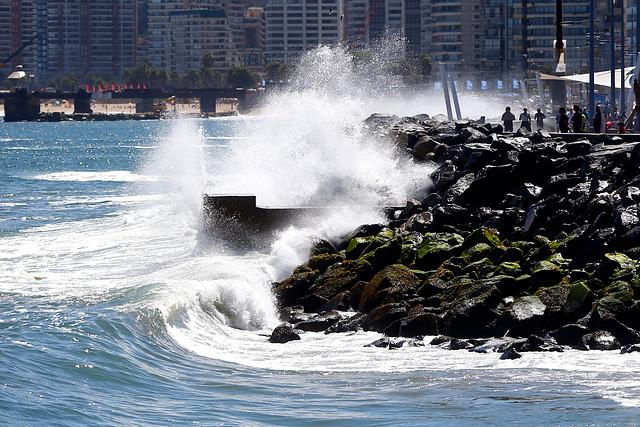 Armada alerta sobre fuertes marejadas para esta semana