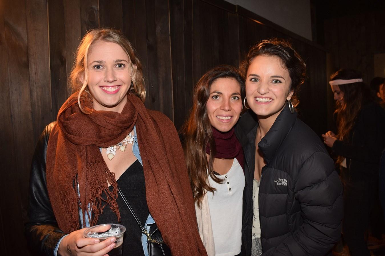 Camille Du Plessis, Sofía Eskenazi y Paula Cruzat.