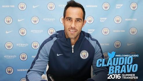 Manchester City hizo oficial incorporación de Claudio Bravo
