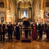 Orquesta Sinfónica Nacional Juvenil debuta en Aula Magna U. de Santiago bajo la dirección de Maximiano Valdés