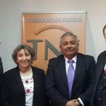 Ex ministra de Salud junto a Iglesias Evangélicas: