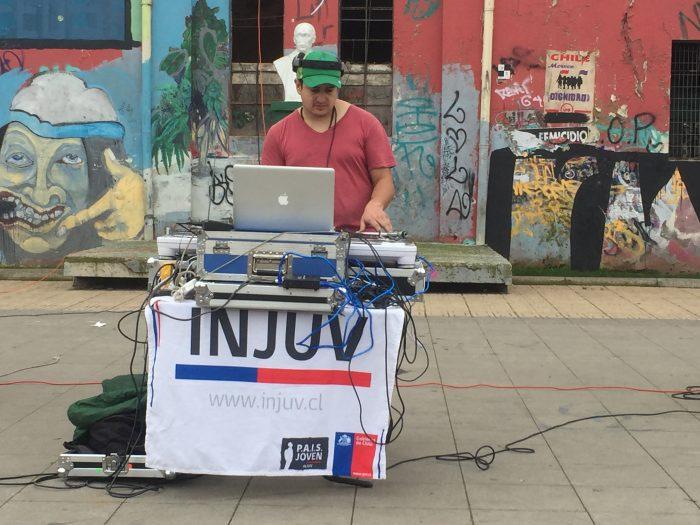 Fiesta electrónica del Instituto Nacional de la Juventud del Maule en la Alameda de Talca, 20 de agosto. Entrada liberada