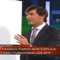 [VIDEO] El día en que Parisi explicó con peras y manzanas el negocio de las AFP