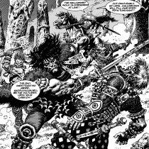 Las historias de Conan vuelven al universo del Cómic con portada chilena