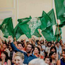 Revolución Democrática lanza campaña municipal bajo el eslogan