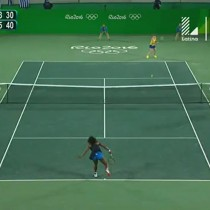 [VIDEO] Así fue la eliminación de Serena Williams del torneo olímpico de tenis
