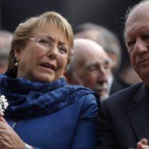 Bachelet sale al paso de Lagos: