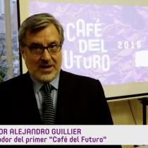 Senador Alejandro Guillier invita al primer Café del Futuro