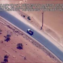 [VIDEO] Estados Unidos difunde imágenes de bombardeos aéreos contra Estado Islámico en Irak y Siria