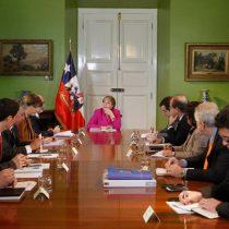 Dirigentes de la Nueva Mayoría instan a Bachelet a realizar un cambio de gabinete