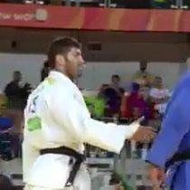 [VIDEO] El judoka egipcio que le negó el saludo a su rival israelí en Rio 2016