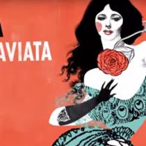 Ópera La Traviata de G. Verdi en Teatro Municipal de Santiago, del 13 al 25 de agosto