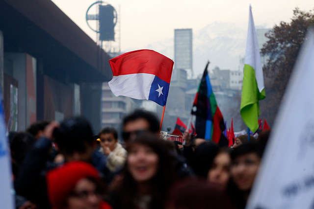 Estudiantes realizan hoy nueva marcha por la Alameda