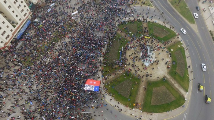 Miles comienzan a marchar contra las AFP
