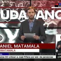 [VIDEO] El minuto de confianza de Daniel Matamala citando