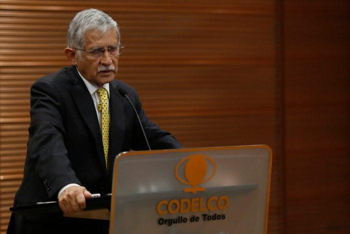 Sueldo del presidente de Codelco desata polémica luego de su dramático llamado sobre la crisis de la empresa