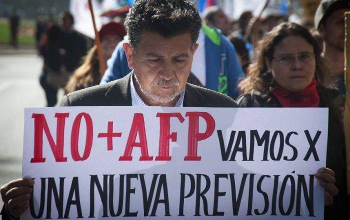Coordinadora Nacional NO+AFP rechaza propuesta del Gobierno y mantiene llamado a cacerolazo de este miércoles