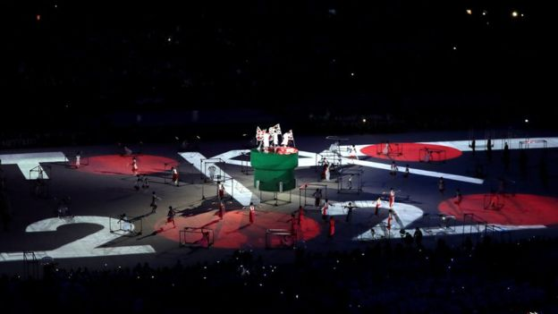 La siguiente cita olímpica será en Japón, dentro de cuatro años.