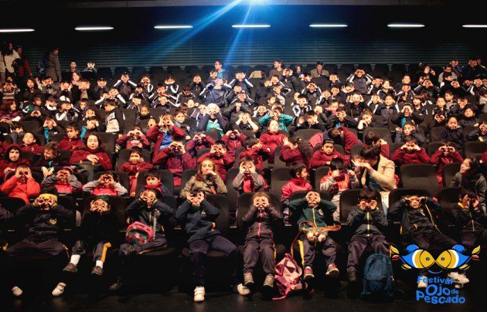 """Quinta versión de Festival de cine para niños """"Ojo de Pescado"""" reunió a más de seis mil asistentes en 30 funciones"""