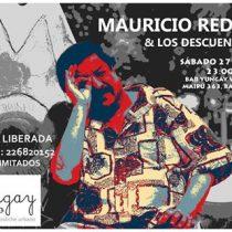Concierto de Mauricio Redolés & Los Descuentos en Yungay Viejo Bodega, 27 de agosto. Entrada liberada