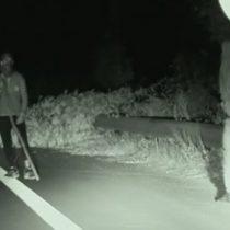 [VIDEO] Palos como armas y árboles que bloquean carreteras: los métodos de los traficantes para hacer llegar a migrantes a Reino Unido