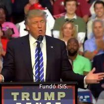 [VIDEO] Trump acusa a Obama de ser el