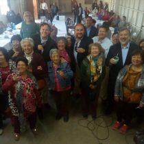 Guillier hace dupla con Matias Walker en gira apoyando candidatos oficialistas a las municipales